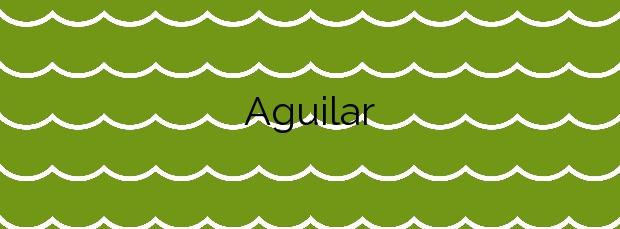 Información de la Playa Aguilar en Muros de Nalón