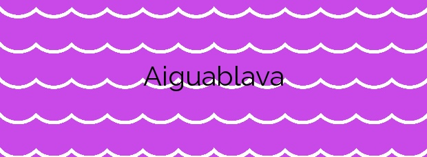Información de la Playa Aiguablava en Begur