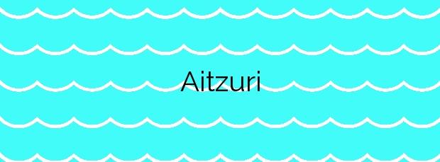 Información de la Playa Aitzuri en Zumaia