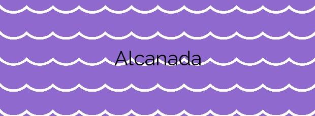 Información de la Playa Alcanada en Alcúdia