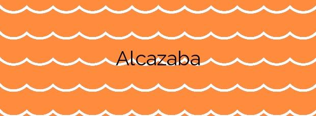 Información de la Playa Alcazaba en Melilla