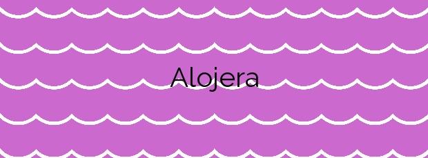 Información de la Playa Alojera en Vallehermoso