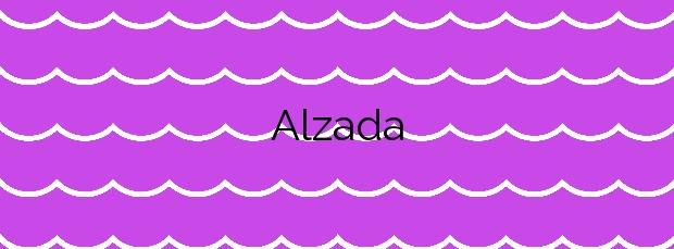 Información de la Playa Alzada en La Oliva