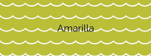 Información de la Playa Amarilla en San Miguel de Abona