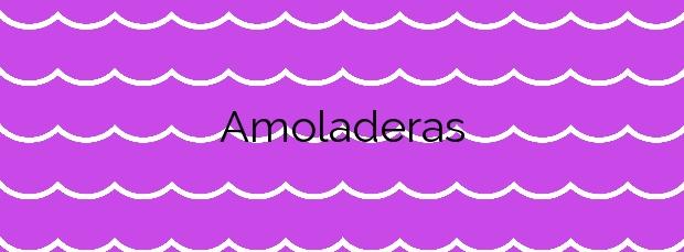 Información de la Playa Amoladeras en Cartagena