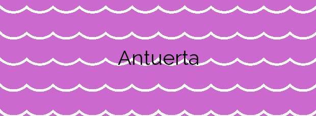 Información de la Playa Antuerta en Bareyo