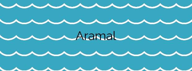 Información de la Playa Aramal en Val de San Vicente