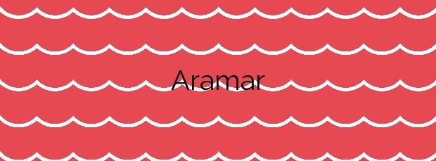 Información de la Playa Aramar en Gozón