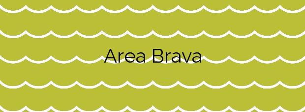 Información de la Playa Area Brava en Cangas