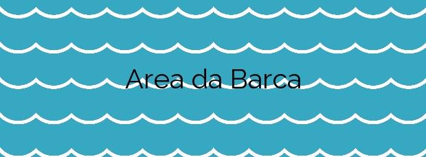 Información de la Playa Area da Barca en Poio