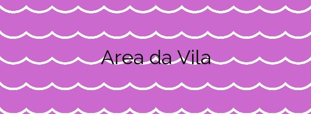 Información de la Playa Area da Vila en Camariñas