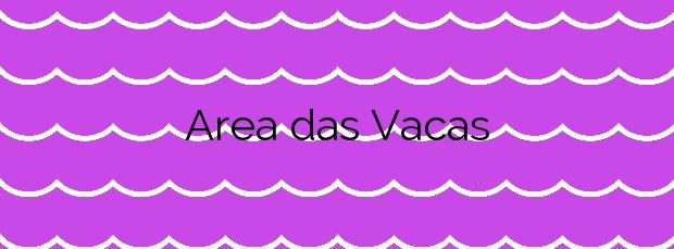 Información de la Playa Area das Vacas en Cabana de Bergantiños