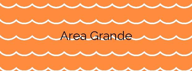 Información de la Playa Area Grande en A Guarda