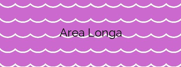 Información de la Playa Area Longa en Cedeira