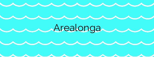 Información de la Playa Arealonga en Redondela
