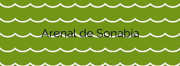 Información de la Playa Arenal de Sonabia en Liendo