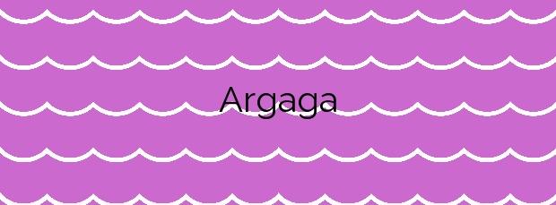 Información de la Playa Argaga en Vallehermoso