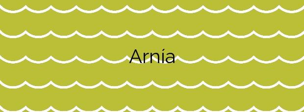 Información de la Playa Arnía en Piélagos