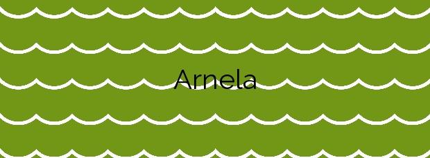 Información de la Playa Arnela en Porto do Son