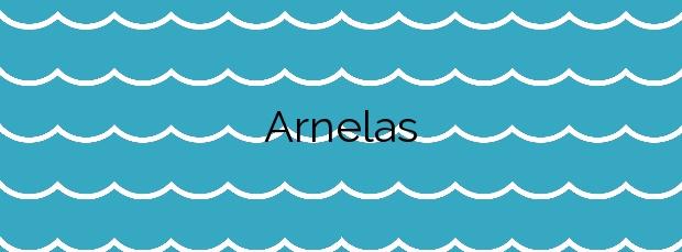 Información de la Playa Arnelas en A Illa de Arousa