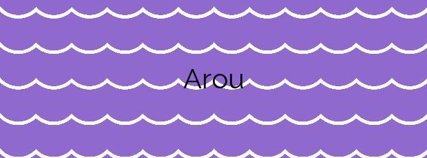 Información de la Playa Arou en Camariñas
