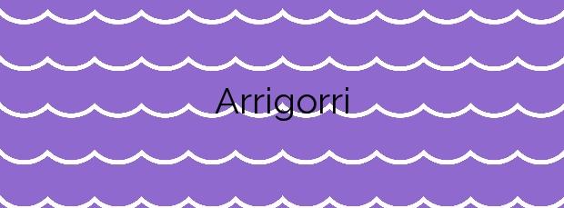 Información de la Playa Arrigorri en Ondarroa
