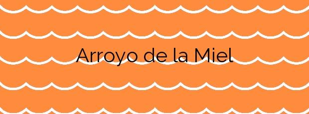 Información de la Playa Arroyo de la Miel en Benalmádena