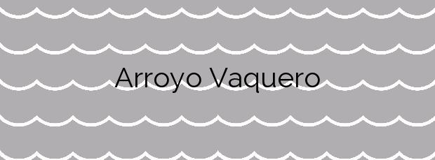Información de la Playa Arroyo Vaquero en Estepona