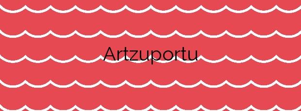 Información de la Playa Artzuportu en Hondarribia