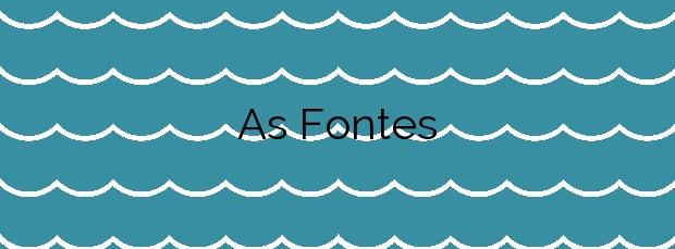 Información de la Playa As Fontes en Vigo