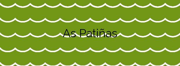 Información de la Playa As Patiñas en Vilanova de Arousa
