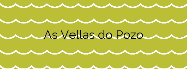 Información de la Playa As Vellas do Pozo en Porto do Son