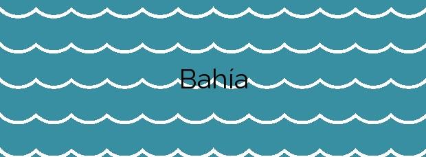 Información de la Playa Bahía en Mazarrón