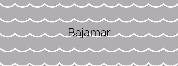 Información de la Playa Bajamar en Vélez-Málaga