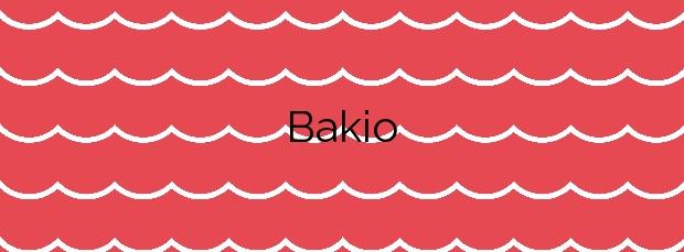 Información de la Playa Bakio en Bakio