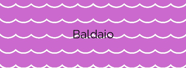 Información de la Playa Baldaio en Carballo