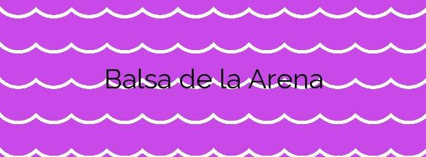 Información de la Playa Balsa de la Arena en Deltebre