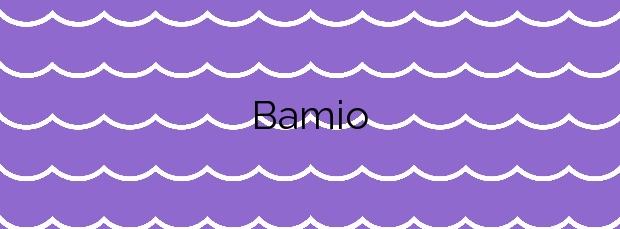 Información de la Playa Bamio en Vilagarcía de Arousa
