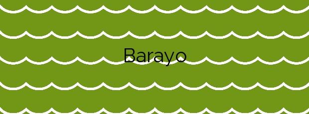 Información de la Playa Barayo en Valdés