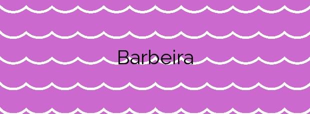 Información de la Playa Barbeira en Baiona