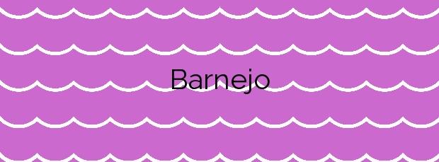 Información de la Playa Barnejo en Val de San Vicente
