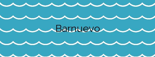 Información de la Playa Barnuevo en San Javier