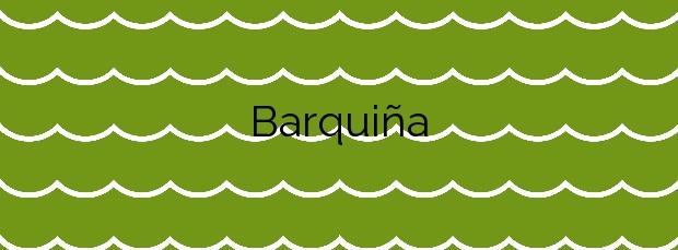 Información de la Playa Barquiña en Noia