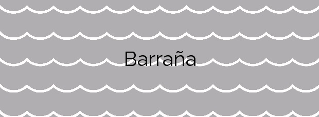 Información de la Playa Barraña en Boiro