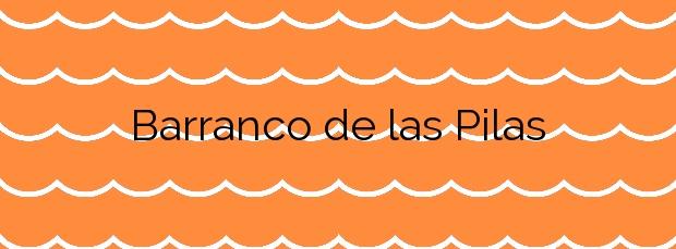 Información de la Playa Barranco de las Pilas en Yaiza