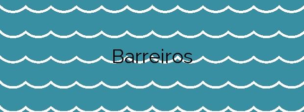 Información de la Playa Barreiros en Muxía