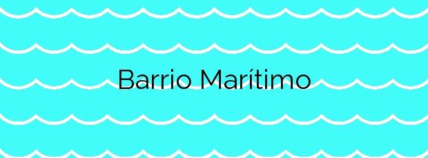 Información de la Playa Barrio Marítimo en Torredembarra