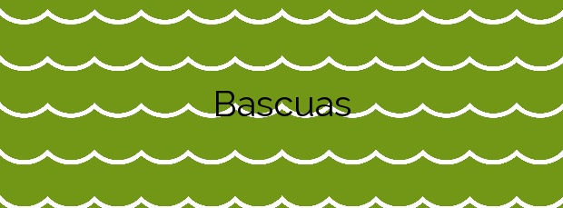 Información de la Playa Bascuas en Sanxenxo