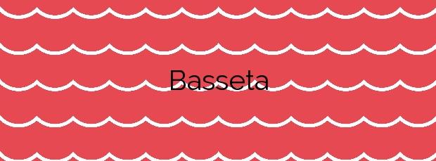 Información de la Playa Basseta en Peñíscola