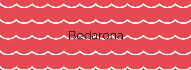 Información de la Playa Bedarona  en Ea